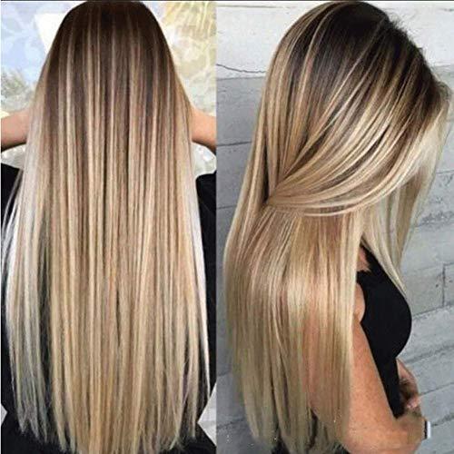 CXXX Frauen - perücke, färben schrittweise Langes, glattes Haar - Damen in perücke