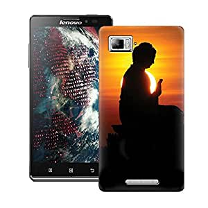 ZAPCASE Printed Back Case for LENOVO VIBE Z K910