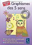 Graphismes des 5 sens, MS-GS-CP. Fiches à photocopier