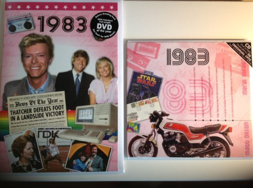 1983 Wedding Anniversary Gift Set - 1983 Chart Hits CD , 1983 DVD Film and 1983 Greeting Card by Various - See Listing (2009-08-03)