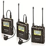 Saramonic UWMIC9-TX9+TX9+RX9 - Sistema de micrófono inalámbrico, color negro
