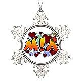 Telecharger Livres arbres de Noel decore Roofridge Nom Mia RTS de ski et des produits en metal Flocon de neige Decorations Nom (PDF,EPUB,MOBI) gratuits en Francaise