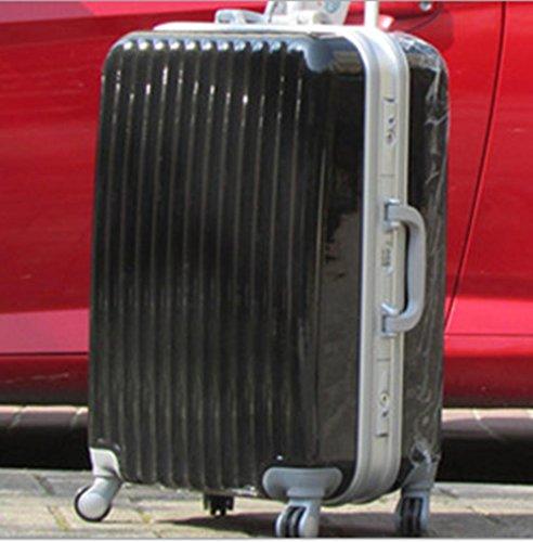Xiuxiandianju 20 pollici 24 pollici 28 pollici ruota universale leva viaggio impermeabile ABS valigia bagaglio di viaggio , black , 28 inch