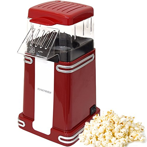 Syntrox Germany Popcorn Maker Popcornmaschine PCM-1200W Arizona