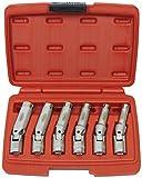 Famex 14870 Spezial-Gelenkschlüssel für Glühkerzen, 6-teilig, 8-16 mm