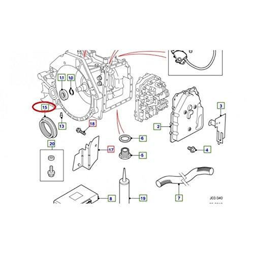 Joint Spy DE Sortie Boite DE Vitesse Automatique pour Freelander pour Land Rover - TZB500130