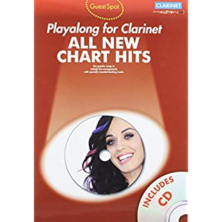 Guest Spot All New Chart Hits Clarinet Book/CD (All New Chart Hits Book & CD)