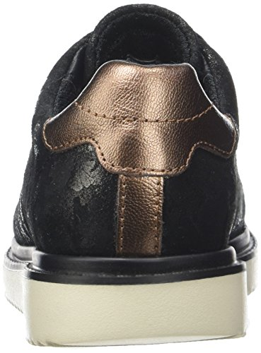 Geox J Thymar Girl A, Derby fille Noir (Black)