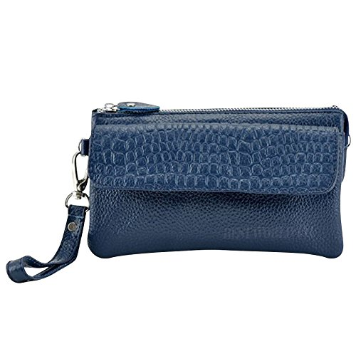 wocharm-soft-leather-wristlet-phone-wallet-clutch-womens-creativity-coin-purses-and-pouches-navy-blu