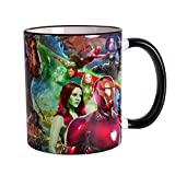 Avengers Tasse Infinity War Collage 320ml Marvel Elbenwald Keramik
