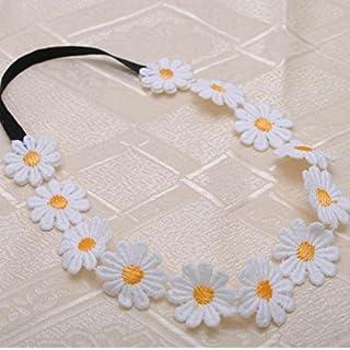 ATST White Daisy Hairband/Hairband