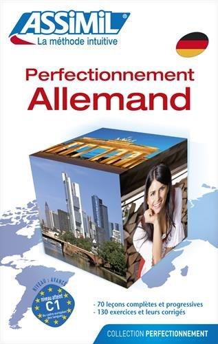 Perfectionnement Allemand ; Livre par Volker Eismann