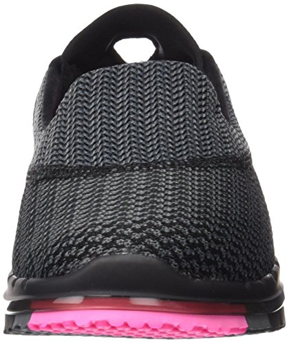 Skechers (SKEES) Go Flex - Extend, baskets sportives femme noir (BKHP)