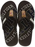 Tommy Hilfiger Herren Essential TH Beach Sandal Zehentrenner, Braun (Coffee Bean 212), 42 EU
