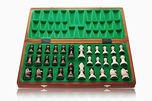 Turnier-6-groe-52cm205-In-Handarbeit-aus-Holz-Schachspiel-professionelle-Staunton