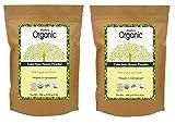 Radico Farbloses-Henna-Blattpulver 2er-Pack (2 x 100g) Cassia Obovata (bio, vegan) x2
