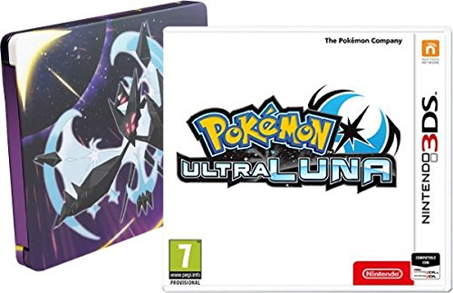 Pokémon Ultraluna - Edición especial con Steelbook
