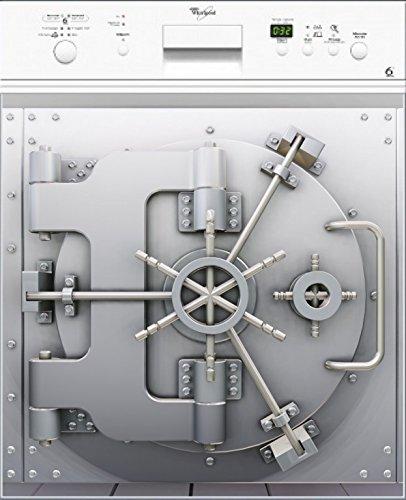 Preisvergleich Produktbild stickersnews–Magnet Spülmaschine Deko Tresor 60x 60cm OEM 027