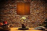 Tischlampe Treibholz Schwemmholz Lampe