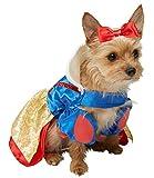 Rubie's 3580209 - Schneewitchen Hundekostüm, blau/gelb