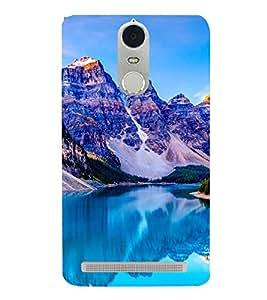 Blue Mountains 3D Hard Polycarbonate Designer Back Case Cover for Lenovo K5 Note :: Lenovo Vibe K5 Note Pro