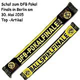 Borussia Dortmund DFB Pokal Finale 2016 Schal, Scarf, Fanschal BVB 09