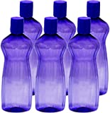 #9: Princeware Aster Pet Fridge Bottle, 500ml, Set of 6, Violet