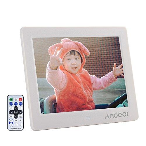 'Andoer 8HD Widescreen Hohe digitale Bilderrahmen MP4MP3Movie Player mit Fernbedienung als Weihnachtsgeschenk