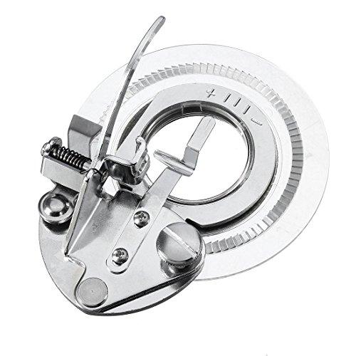 TOOGOO(R) Prensatelas de maquina de coser aguja de flor margarita decorativa universal - Se adapta a todas las maquinas de coser rapidas de cana baja