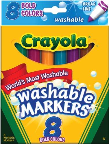 CRAYOLA 8Ct Bold Broad-line waschbar Marker - Crayola-gel