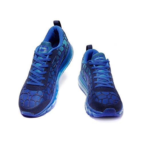 Onemix Scarpe da Ginnastica Running Sneakers Fitness Interior Uomo Blu