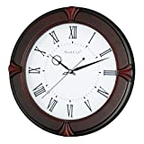 WOOD CRAFT ws-1127c sweep wall clock (da...