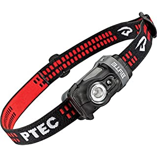 Princeton Tec Byte Head Torch White/Red LED Black Case