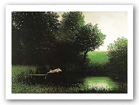 Diving Pig (Flying Pig) Kohler's Schwein by Michael Sowa Art Print Poster by First Art Source
