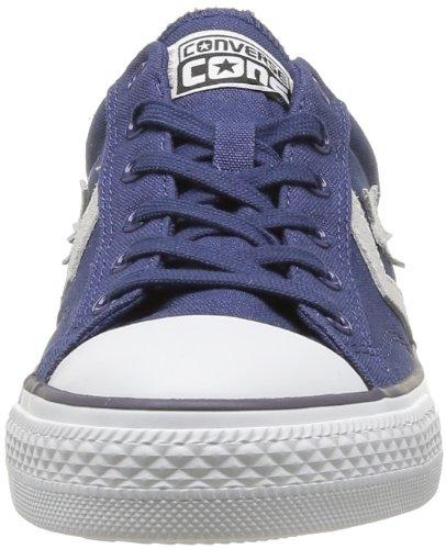 Converse Sp Core Canv Ox 289161-52-10 Unisex - Erwachsene Sneaker Blau (Bleu/Gris)