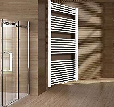 Mittelanschluss Badheizkörper Heizkörper Handtuchwärmer Heizung Badheizung 50x160 cm Weiss Badmöbel von Beo auf Heizstrahler Onlineshop