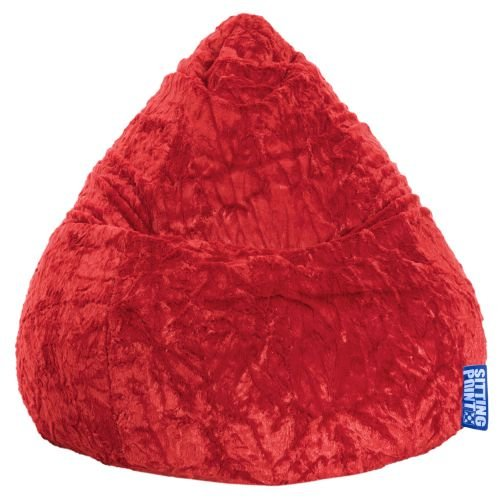 Sitting Point Sitzsack BeanBag FLUFFY L pink 120l Magma