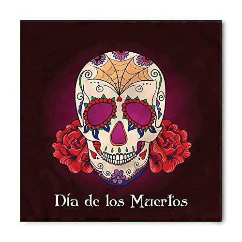 en Bandana, Dia de Los Muertos, Unisex Kopf und Hals binden Stirnband Kopf wickeln ()