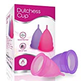 Dutchess Menstrual Cups Set of 2 with Free Bag - Large Size A