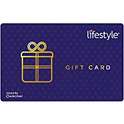 Gift the freedom of Choice.Gift your loved ones or Business Associates a Lifestyle Gift Card. Let them choose from a fashionable range of apparel, accessories, footwear, furnishings and more from a wide network of stores across India. This is a gift ...