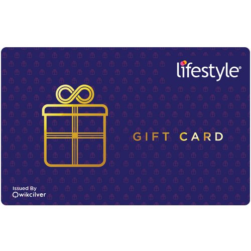 Lifestyle Gift Card - Rs.1000