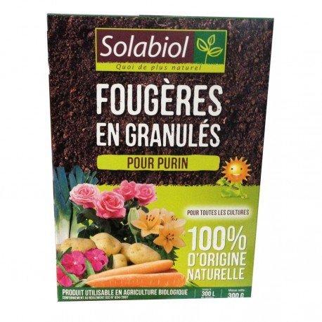 Fougères en granulés pour purin Solabiol 300g