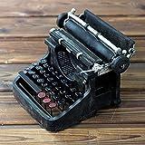 Kaige Tischdekoration Harz-Vintage Schreibmaschine Schmuck