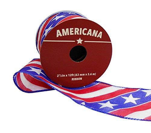 he Sheer Twill Flagge Schleifenband 6,3cm X 12' ()