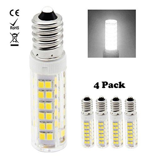 1819®5-Packs 220V-240V 3W/5W G9 LED-Glühlampe kühles Weiß 6000K Warm Weiß 3000K LED-Birnen für Nähmaschine / Appliance-Lampen (5W, kühles Weiß)
