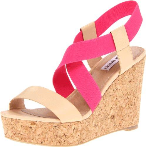 Steve Madden Terorr Damen Rosa Plattformen Sandalen Schuhe Neu/Display (Madden Steve Plateau Stiefel)