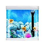 #3: Diwali Gift Fish Aquarium Combo Tank (Color May Vary) (T-240F, Capacity-9L)