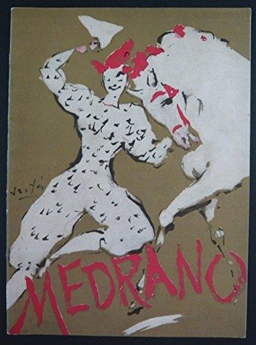 Programme cirque Medrano 23 sept au 13 oct 1956