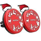 Soporte Móvil Coche Magnético de 2 Unidades para Navidad en Rejillas del Aire de Coche, Mpow Soporte de Diseño Especial del Coche del Teléfono para iPhone X/8/8Plus/7/7Plus/6/6s/6 Plus, Xiaomi