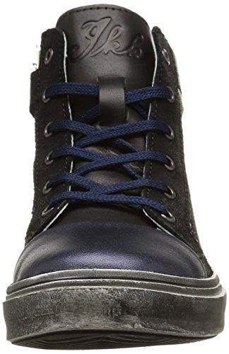 IKKS Kristen, Sneakers Hautes fille, Bleu (Vte Marine Dpf/Torres), 40 EU Bleu (Vte Marine Dpf/Torres)